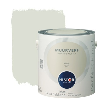 Histor Perfect Finish muurverf mat wollig 2,5 l