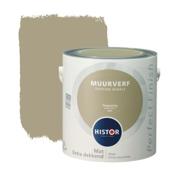 Histor Perfect Finish muurverf mat toepassing 2,5 l