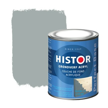 Histor Perfect Base grondverf acryl grijs 750 ml