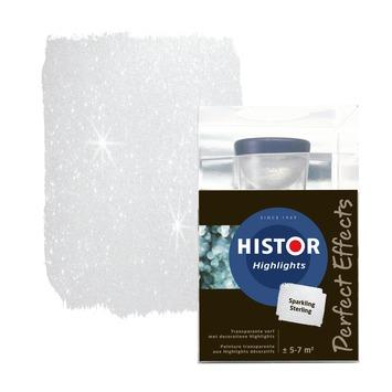 Histor Highlights muurverf transparant sparkling sterling 750 ml