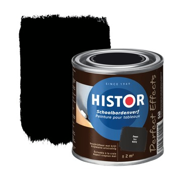 Histor Perfect Effects schoolbordenverf mat zwart 250 ml