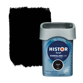 Histor Perfect Finish lak waterbasis zijdeglans zwart 750 ml