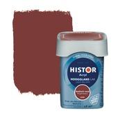 Histor Perfect Finish lak waterbasis hoogglans baskisch rood 750 ml