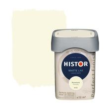 Histor Perfect Finish lak mat roomwit 750 ml