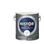 Histor Exterior lak hoogglans wit 2,5 l