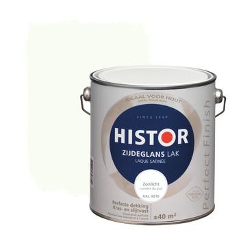 Histor Perfect Finish lak zijdeglans zonlicht 2,5 l
