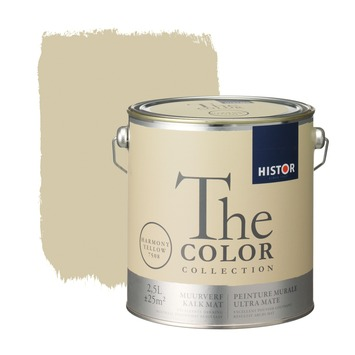 Histor The Color Collection muurverf harmony yellow 2,5 liter