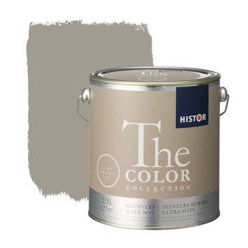 Histor The Color Collection muurverf clay brown 2,5 liter