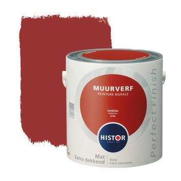 Histor Perfect Finish muurverf mat ambitie 2,5 l