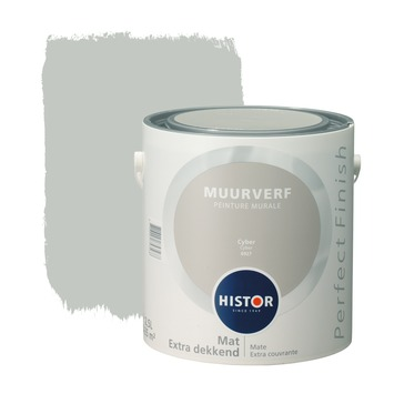 Histor Perfect Finish muurverf mat cyber 2,5 l