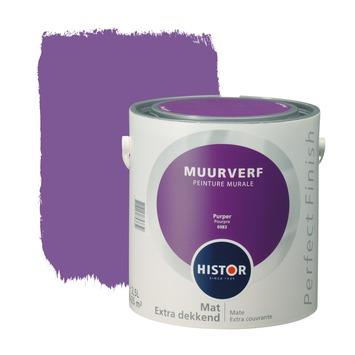 Histor Perfect Finish muurverf mat purper 2,5 l