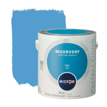 Histor Perfect Finish muurverf mat turbo 2,5 l