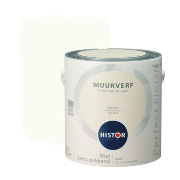 Histor Perfect Finish muurverf mat zonlicht 2,5 l