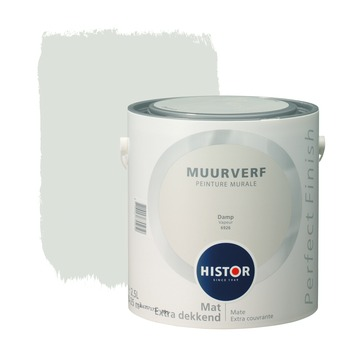 Histor Perfect Finish muurverf mat damp 2,5 l