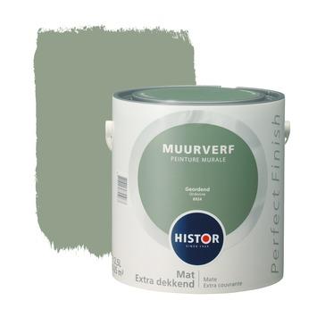 Histor Kleuren Verf.Histor Perfect Finish Muurverf Mat Geordend 2 5 L Kopen Histor