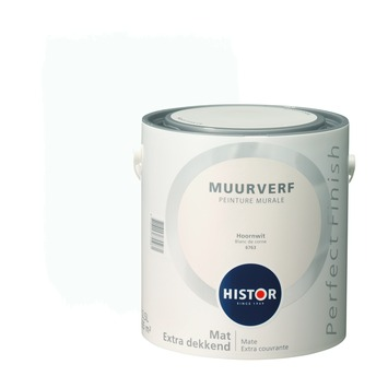 Histor Perfect Finish muurverf mat hoornwit 2,5 l