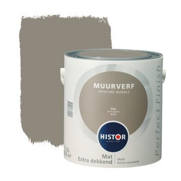 Histor Perfect Finish muurverf mat klei 2,5 l