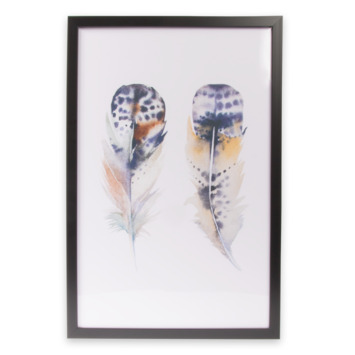 Print in frame - Feather 40x60 cm