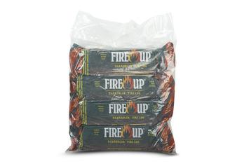 Fire-up paraffine haardblokken 1kg set à 4 stuks