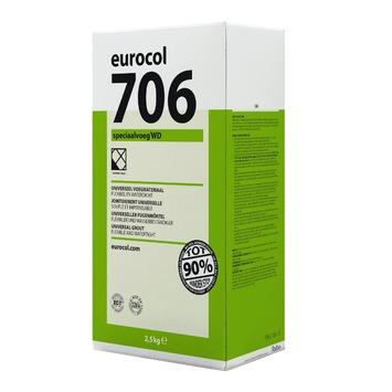 Eurocol 706 speciaal voegmortel zilvergrijs 2,5kg