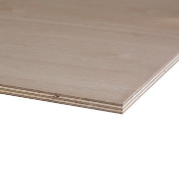 Hardhout multiplex 244x122 cm dikte 15 mm