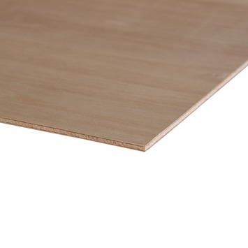 Hardhout multiplex 122x61 cm dikte 5,5 mm