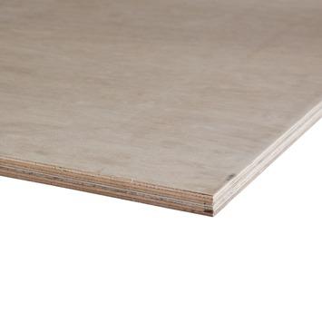 Hardhout multiplex 244x122 cm dikte 18 mm