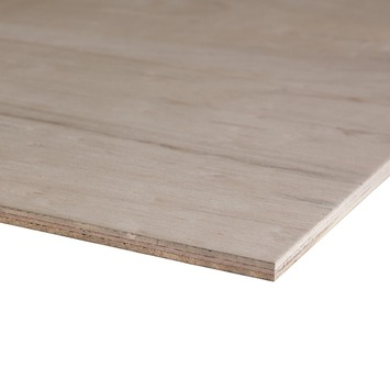 Hardhout multiplex 244x122 cm dikte 12 mm