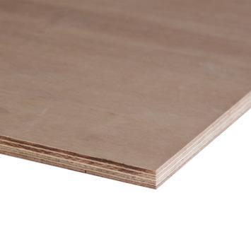 Hardhout multiplex 122x61 cm dikte 15 mm