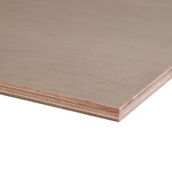 Hardhout multiplex 122x61 cm dikte 18 mm