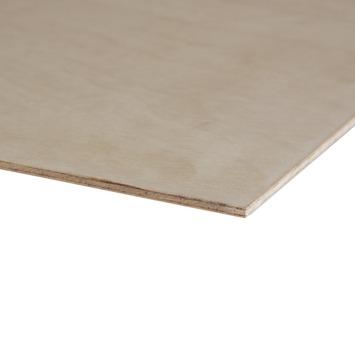 Hardhout multiplex 244x122 cm dikte 5,5 mm