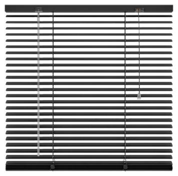 KARWEI horizontale aluminium jaloezie 25 mm zwart (203) 60 x 130 cm (bxh)