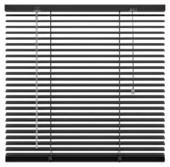 KARWEI horizontale jaloezie zwart (203) 60 x 130 cm - 25 mm