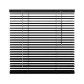 KARWEI horizontale jaloezie zwart (203) 80 x 130 cm - 25 mm
