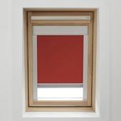 KARWEI dakraamrolgordijn rood (7002) 78 x 98 cm
