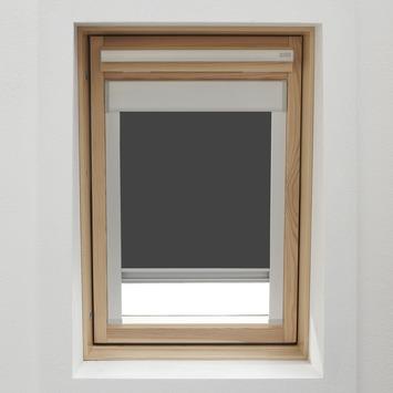 KARWEI dakraamrolgordijn grijs (7004) 134 x 140 cm