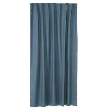 karwei kant en klaar gordijn 140x280 cm 1021 half panama blauw
