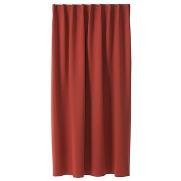 KARWEI kant en klaar gordijn rood (1026) 140 x 280 cm kopen? | KARWEI