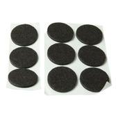 KARWEI anti-slip rubber 28mm zwart 9 stuks