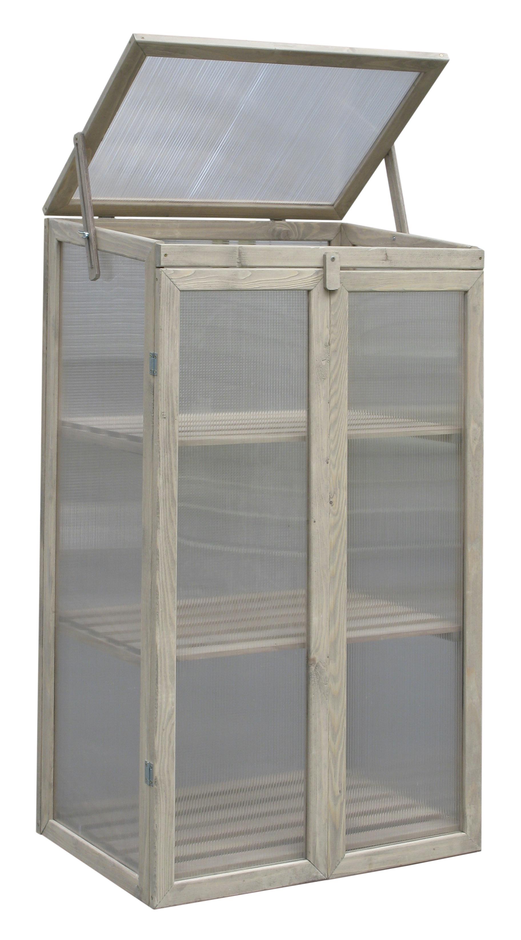 Kweekkastje met deuren h120 cm