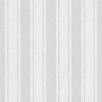 Vliesbehang calico streep grijs (dessin 33-174)