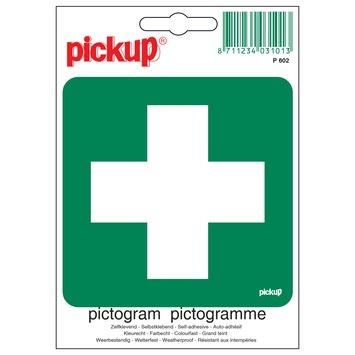 Pickup pictogram EHBO post 10x10 cm