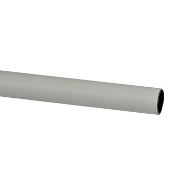 19 mm gordijnroede wit 200 cm
