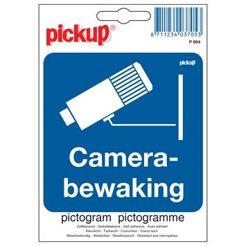 Pickup pictogram camerabewaking 10x10 cm