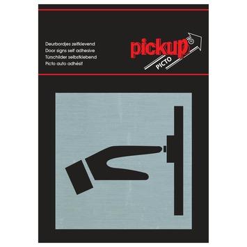 Pickup Alu Picto bellen 8x8 cm