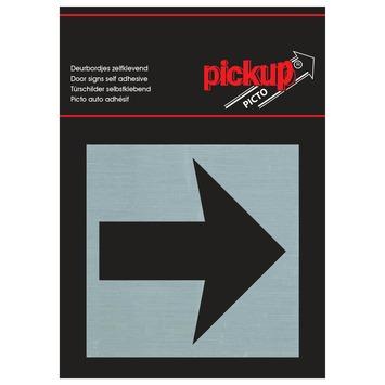 Pickup Alu Picto pijl 8x8 cm