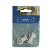 Intensions Practical combisteun roede wit 13 mm 2 stuks