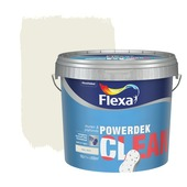 Flexa Powerdek Clean mat RAL9010 10L