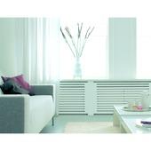 CanDo radiatorbekleding Chester wit gegrond 80x50 cm