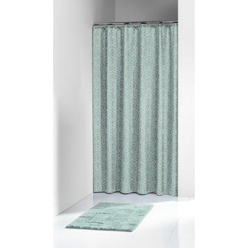 Karwei Kent Douchegordijn Textiel Blauw 180x200 cm